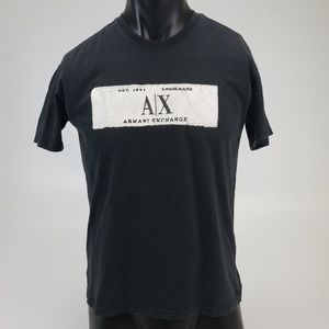 Black Armani Exchange Tee-Shirt